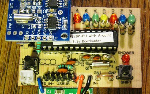 Monitor de ducha Arduino