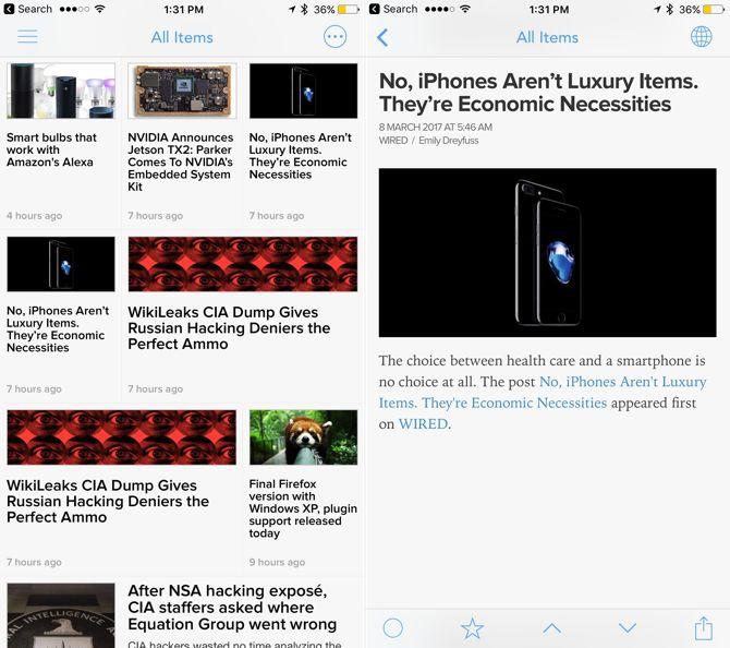 conmutar aplicaciones amigables newsify