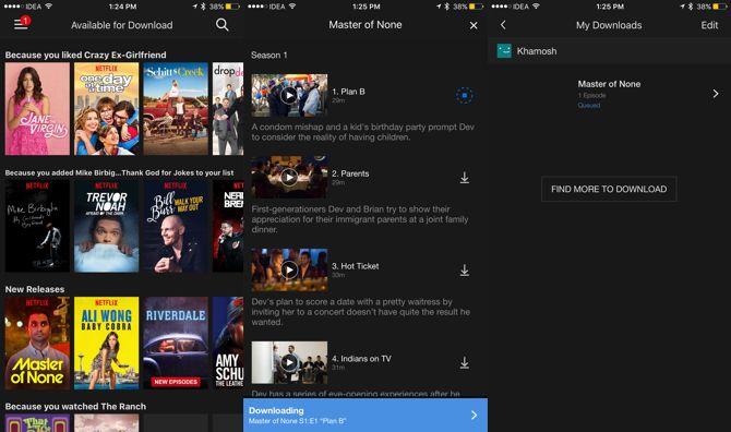 conmutar aplicaciones amigable Netflix