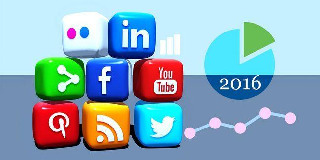 12 Hechos y las estadísticas de medios sociales que debe conocer en 2016