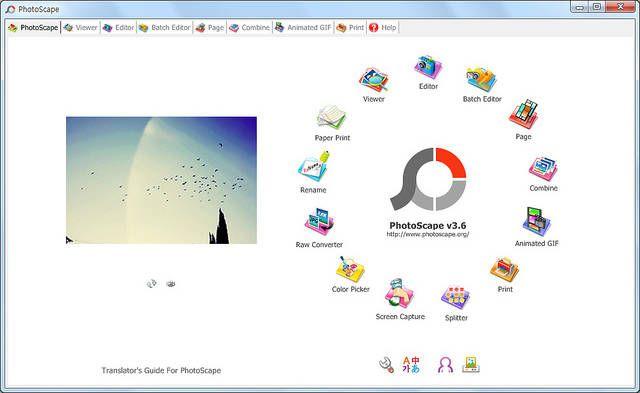 -adobe-libres alternativas Photoscape