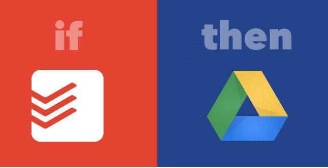 IFTTT Receta tareas completadas cálculo de Google