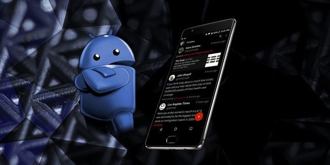 14 Aplicaciones de android oscuro con temas para su smartphone amoled