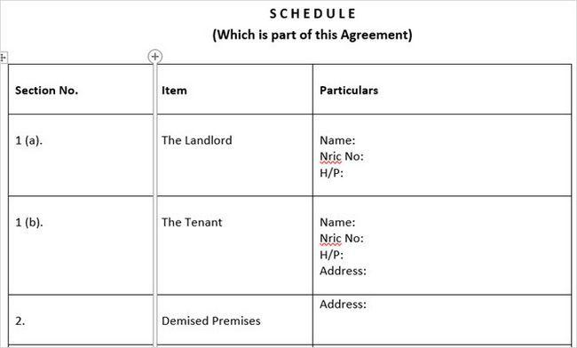 templatelab básica contrato de alquiler