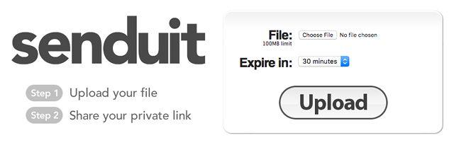 el intercambio de archivos de sitio senduit