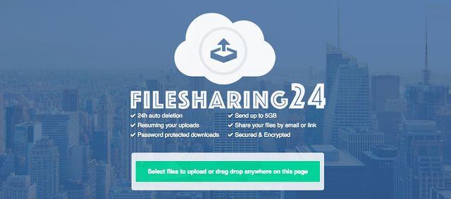 el intercambio de archivos de sitio filesharing24