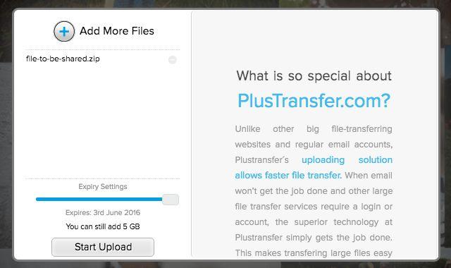el intercambio de archivos de sitio plustransfer