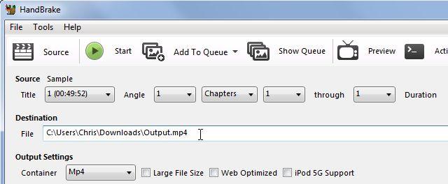 freno de mano-select-salida-archivo