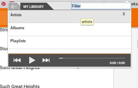 Music Plus para Google Play Biblioteca