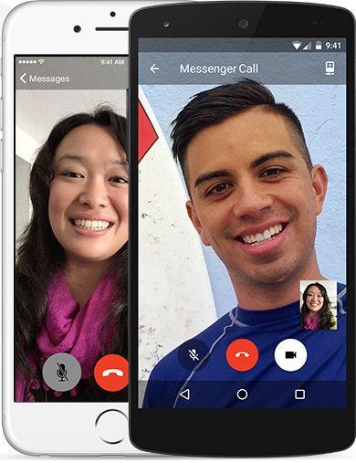 Facebook Messenger llamadas de video