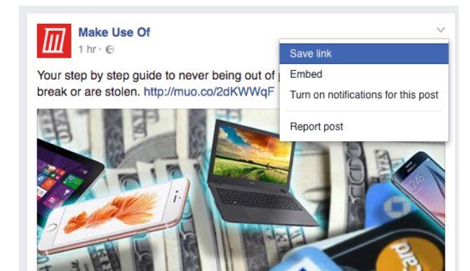Trucos de Facebook y Características - Aceptación del anuncio