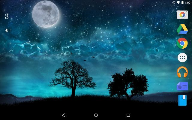 AndroidLiveWallpapers-sueño-Noche