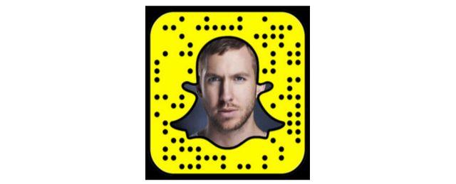 Calvin Harris Snapcode