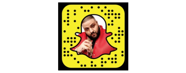 DJKhaled Snapcode