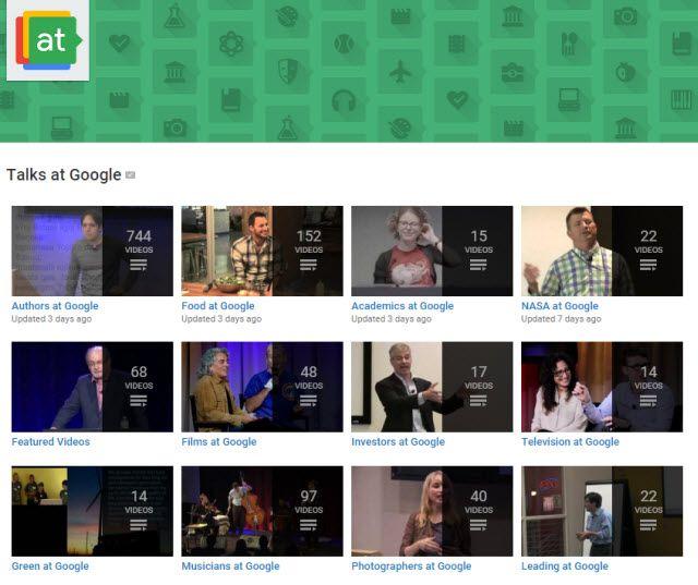 Aprendizaje-Google en línea conversaciones