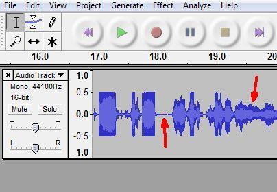 software de grabación de audio audacia
