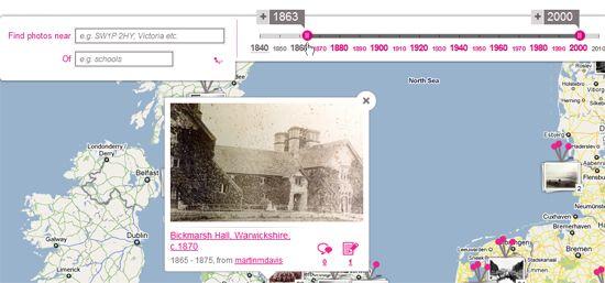 mapas históricos de Google