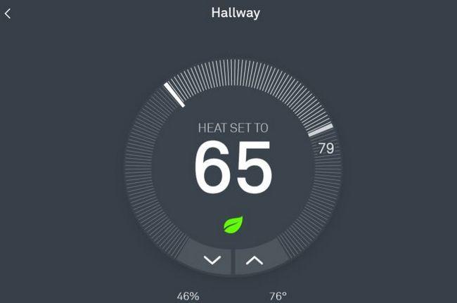 Nido inteligente Integración termostato con IFTTT