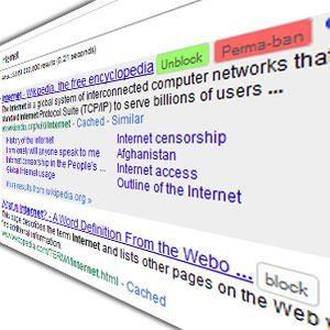 3 Herramientas basadas en navegador para bloquear los dominios de resultados de búsqueda de google