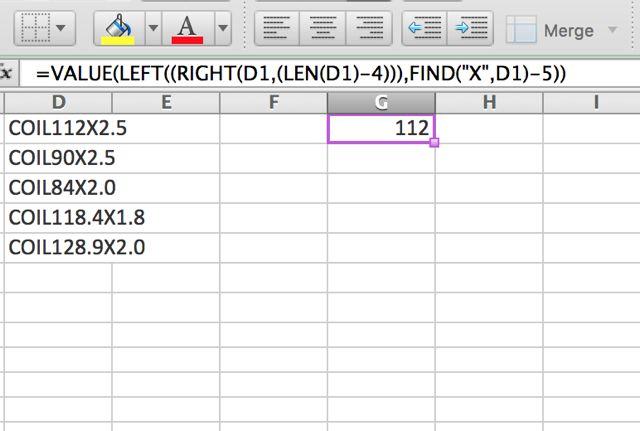 Excel-valor-función
