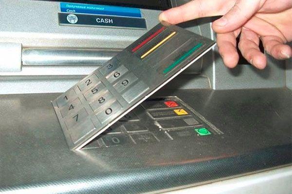 ATM Pad número falso