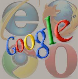 3 Versiones modificadas de búsqueda de google a la opción predeterminada de su navegador