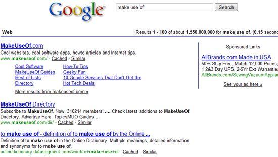google vainilla