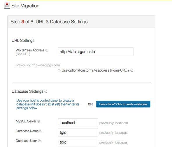 wordpress migración