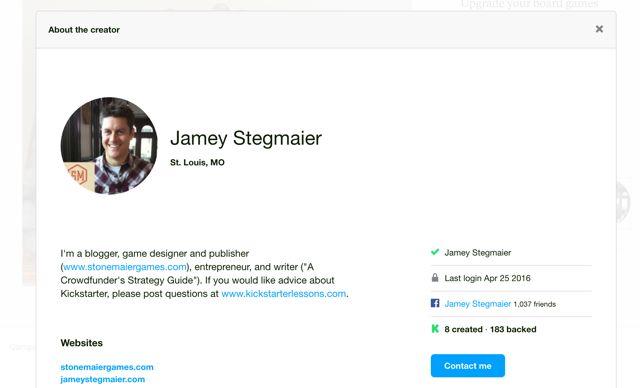 Stegmaier perfil