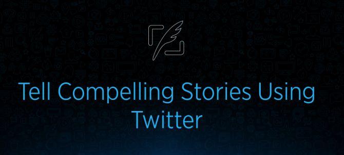 Twitter historias convincentes