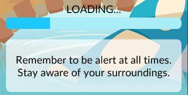Pokemon Manténgase alerta