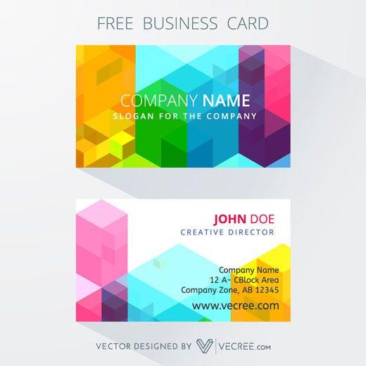 Las tarjetas de visita para los diseñadores gráficos