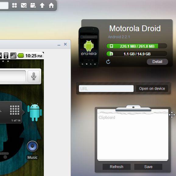 Cómo transferir datos desde el PC al androide