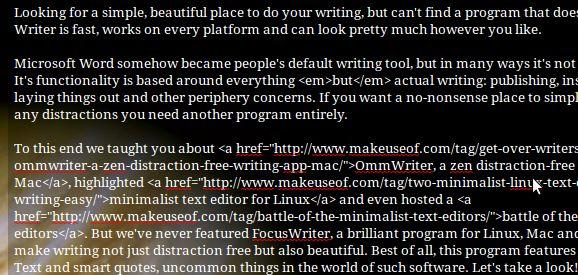 herramientas libres de la escritura