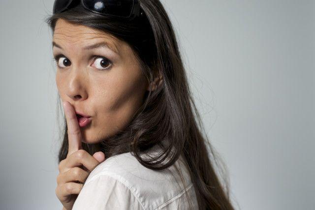 mujer de callar