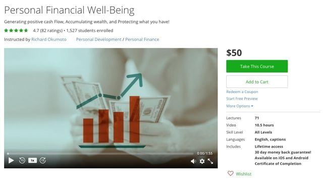 Udemy finanzas personales