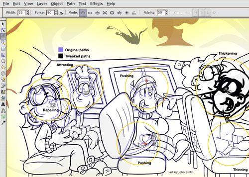 Inkscape - Alternatve para Adobe Illustrator y Corel Draw