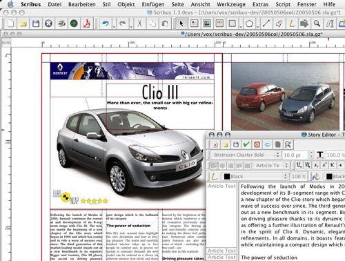 Scribus - Alternativa para Adobe InDesign y QuarkXPress