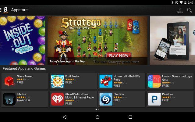AndroidGooglePlay-Amazonas-Appstore