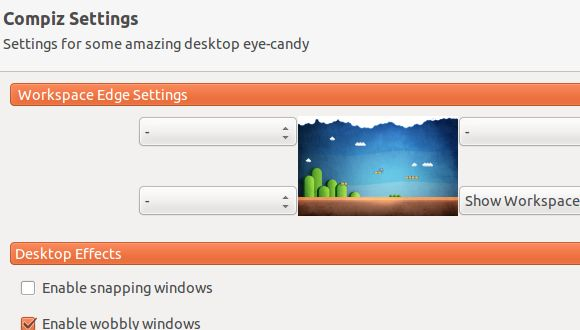 cambiar la forma en ubuntu mira