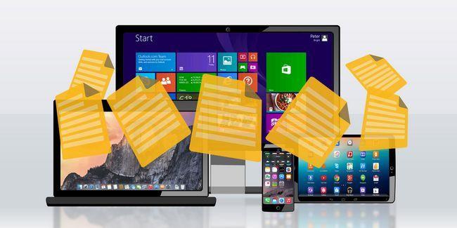 Maneras más rápidas para transferir archivos entre pc y los dispositivos móviles