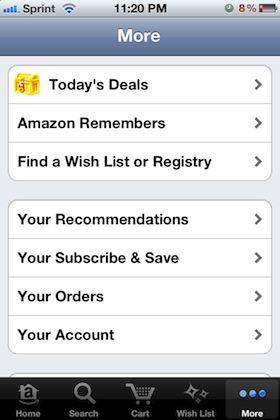 Amazon sitio de acuerdo al día