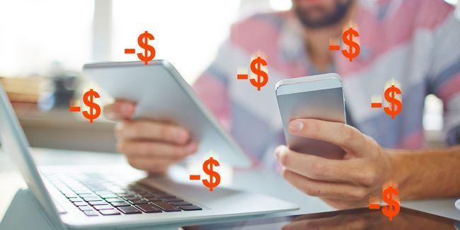 4 Maneras de evitar que su obsesión tecnología de chupar su dinero