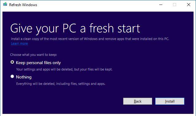 de actualización de Windows