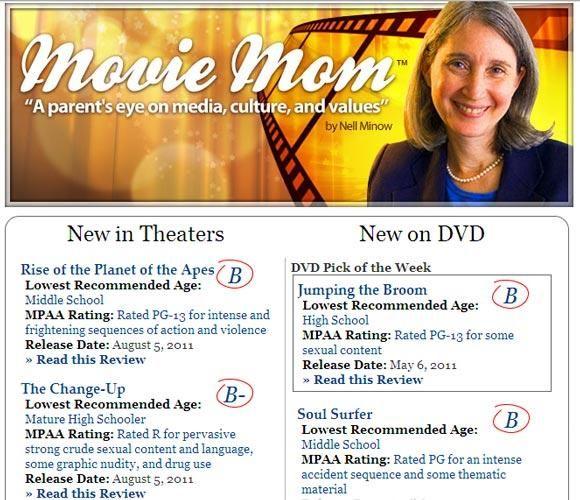 las familias está reseñas de películas