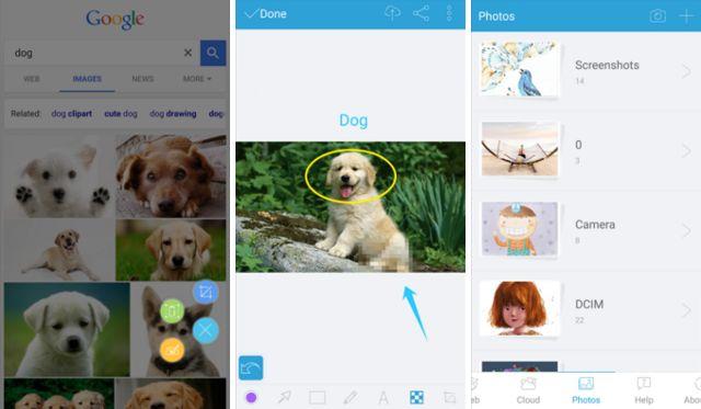 androide de pantalla-aplicaciones-Apowersoft