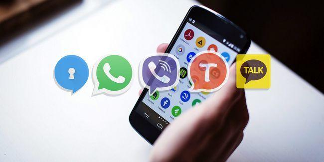 5 Las mejores aplicaciones de mensajería para android