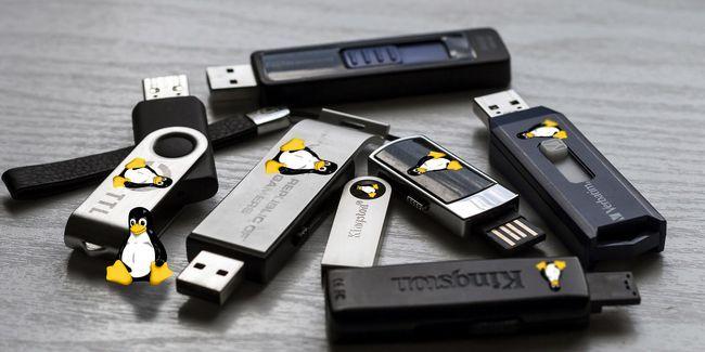 5 Mejores distribuciones de linux para la instalación en una memoria usb
