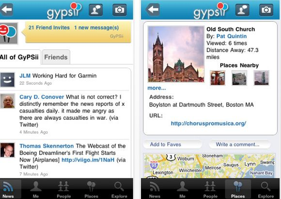 la red social móvil