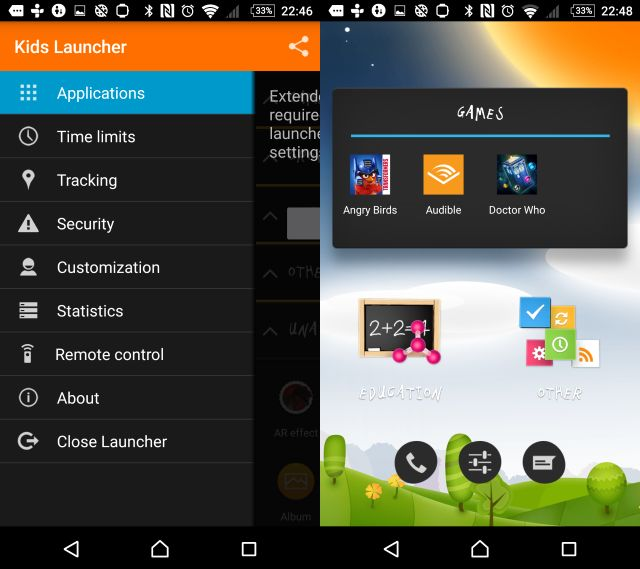 Muo-android-ParentalControl-kidslauncher